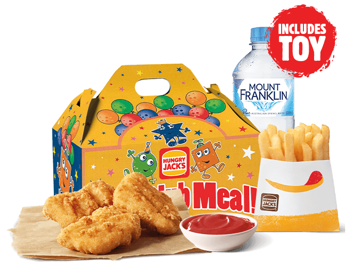3 Nuggets Kids Pack